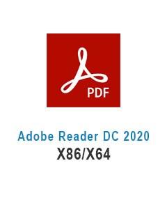 Adobe Reader DC 2020 X86/X64