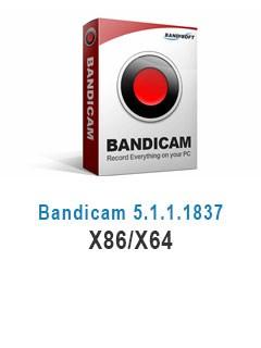 Bandicam 5.1.1.1837 X86/X64
