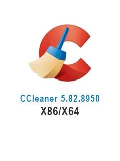 CCleaner 5.82.8950 X86/X64