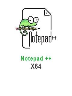 Notepad++ 7.3.3 X64