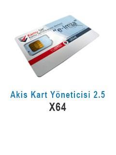 Akis Kart Yöneticisi 2.5 X64